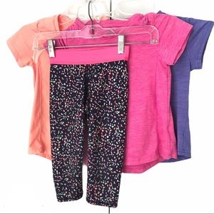 Champion Girls Tops & Gap Fit Cropped Pants